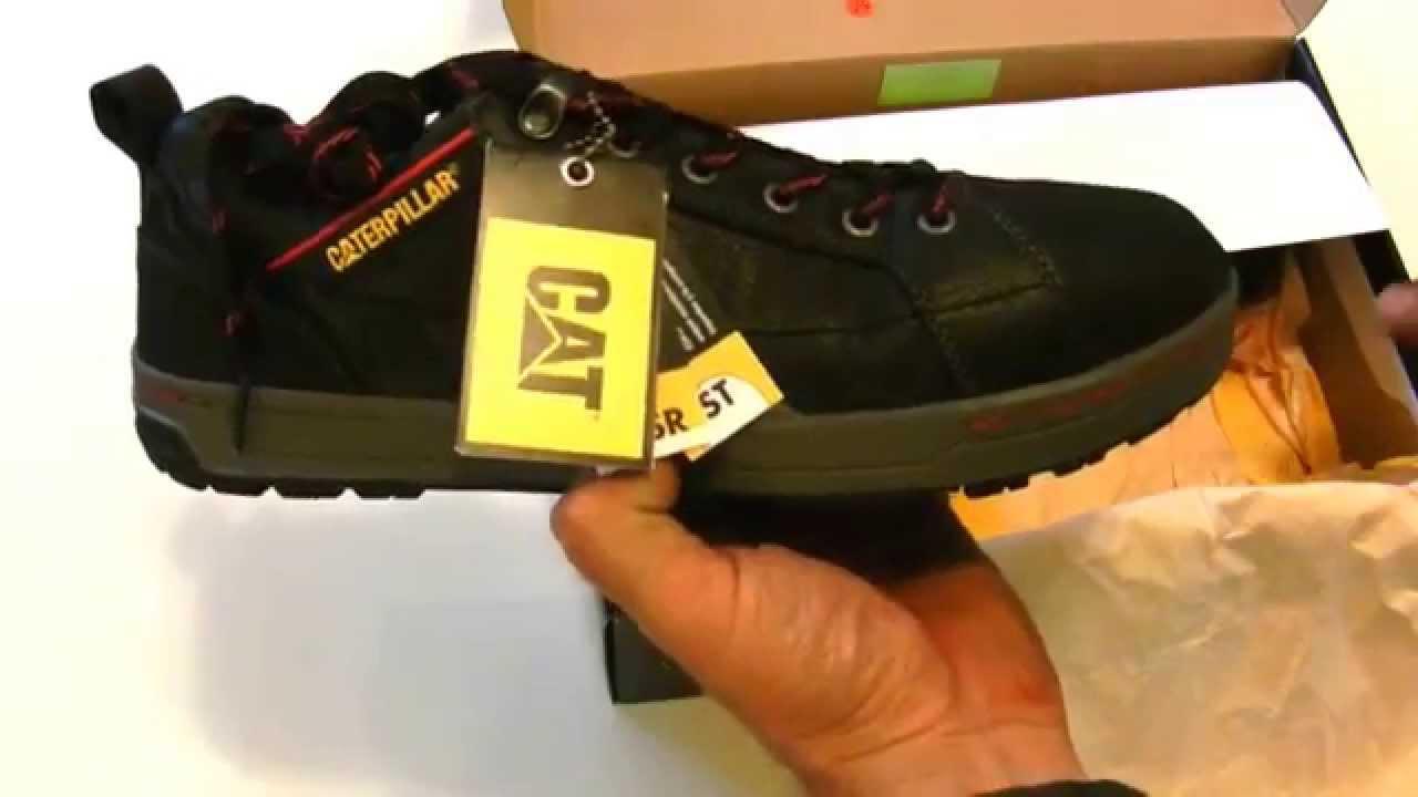 Caterpillar Brode Steel Toe Work Shoe