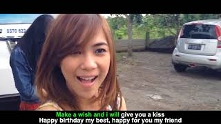 Cherrybelle - Birthday Kiss [ Official Lyric Video ]