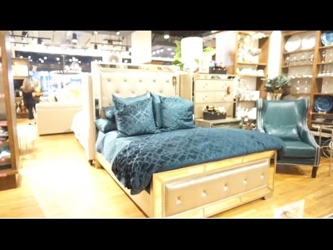 home decor shopping! zgallerie & home goods - youtube