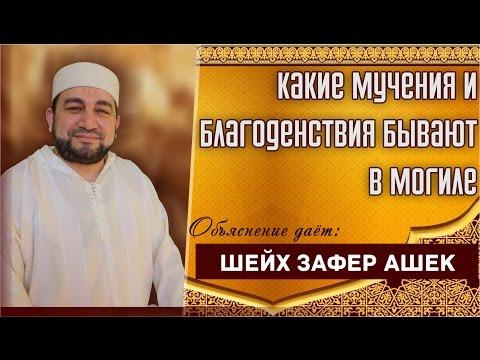 Какие мучения и благоденствия бывают в могиле - шейх Зафер Ашек