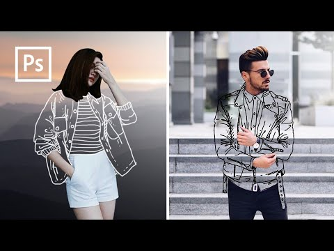 Cara Edit Foto Baju Transparan, Clothless Effect - Edit Foto Kekinian - Photoshop Tutorial Indonesia