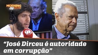 """""""José Dirceu é a maior autoridade do país em corrupção"""", diz Caio Coppolla"""