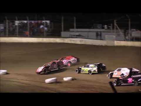 UMP Modified Heat #4 from Portsmouth Raceway Park, October 18th, 2018.