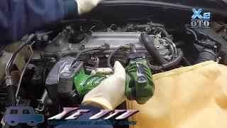 [Xe oto] Toyota Corolla/Altis  ồn ở động cơ khi đề máy buổi sáng.Sửa thế nào?P1