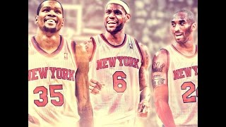 NBA2K14 Ps4 Knicks MyGm Ep.31 - The 3 Kings Of New York:Lucky charm