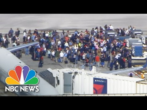 At Least Nine Shot At Fort Lauderdale Airport | NBC News