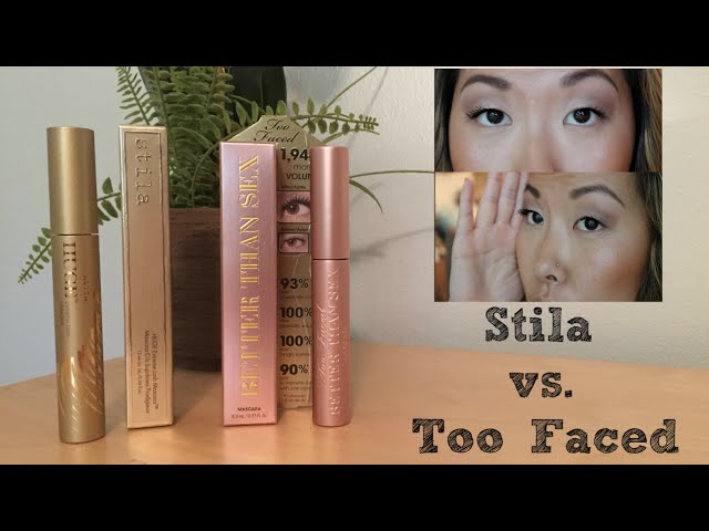 Stila HUGE Extreme Lash vs. Too Faced Better Than Sex Mascara | Babybellykelli