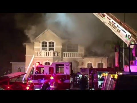 Highland Knolls house fire 02 24 16