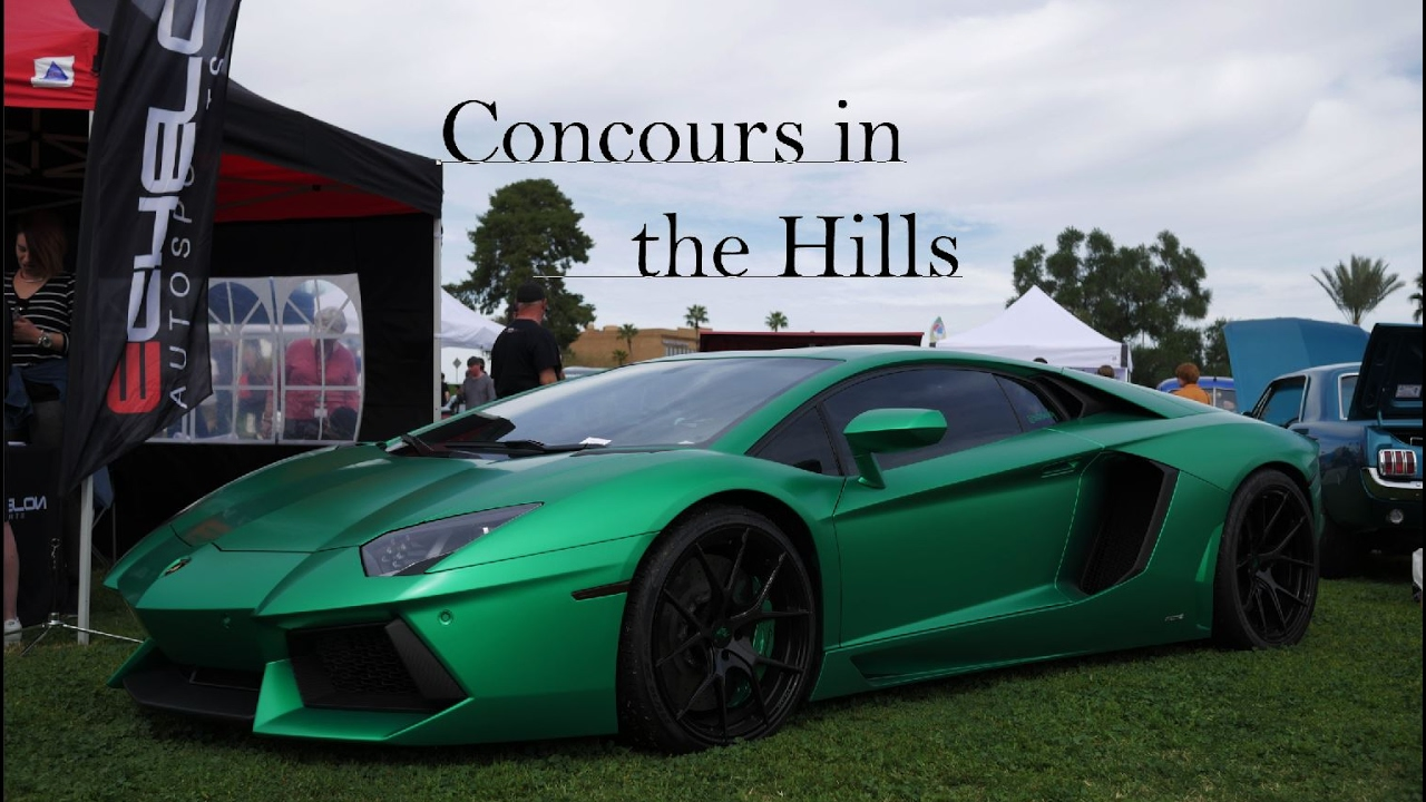 Concours In The Hills YouTube - Fountain hills car show