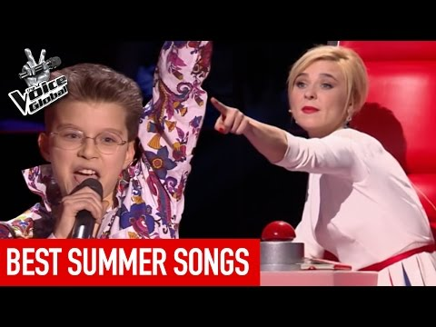 The Voice Kids | BEST SUMMER SONGS in The Blind Auditions