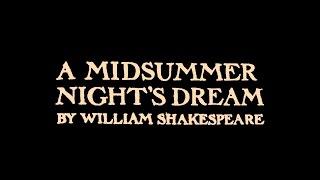 "A midsummer night's dream (2015,  ТО ""Вечерний кинозал"")"
