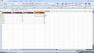 How to use Excel 2007 goal seek