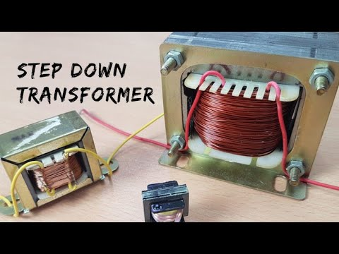 Copper Electrical Wire >> #TechnologicalCHAUHAN How to make Step - Down Transformer ...