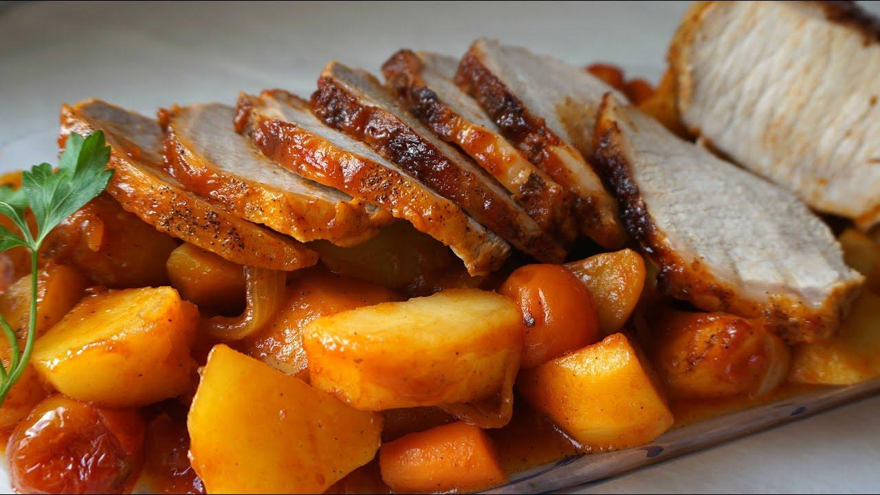 Asado redondo de carne de res asado