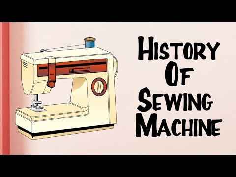 Invention Of Sewing Machine History Of Sewing Machine Beauteous How Was The First Sewing Machine Made