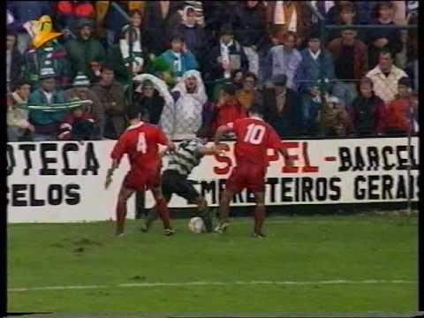 07J :: Gil Vicente - 0 x Sporting - 0 de 1993/1994