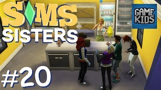 Running Mustache Bakery - Sims Sisters Episode 20
