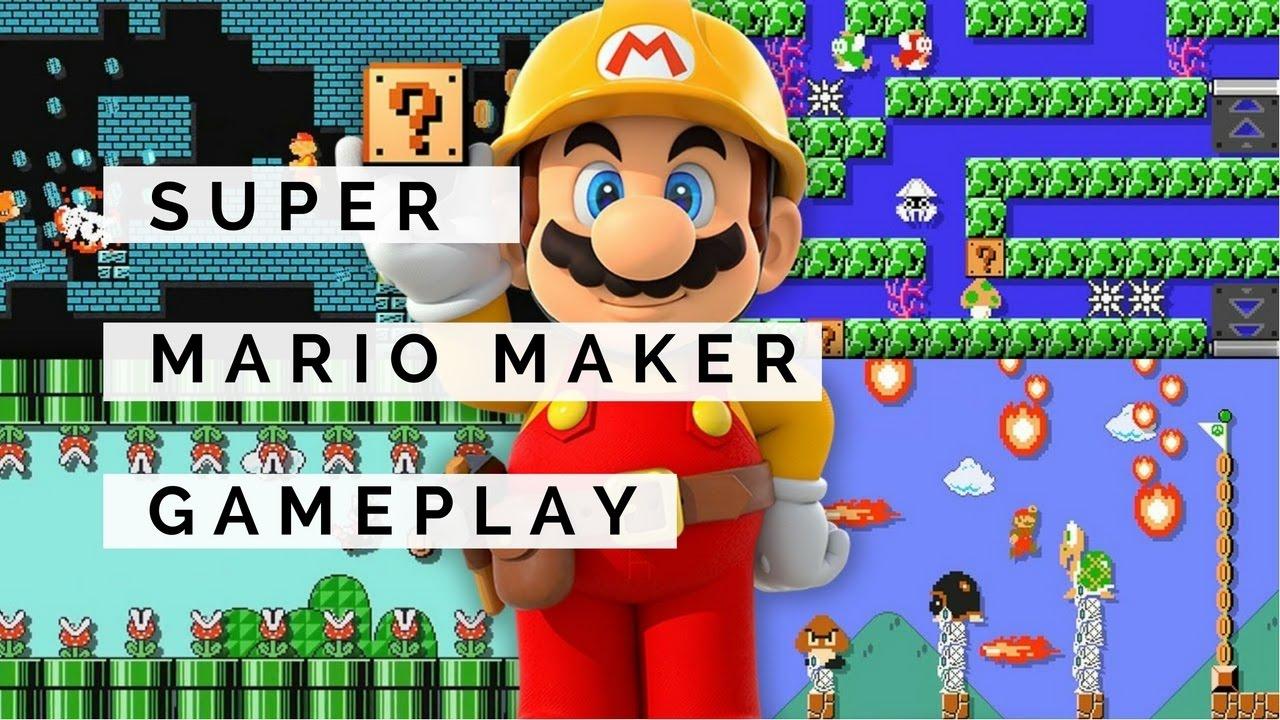 Stampy And Sqaishey Mario Maker : Super Mario World : Super Mario Maker - Map For sqaishey World 1 Walkthrough - YouTube