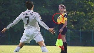 Futbol'u Ateşli ve Komik Kadın Hakemler Yönetirse Ne Olur? İşte Bu...