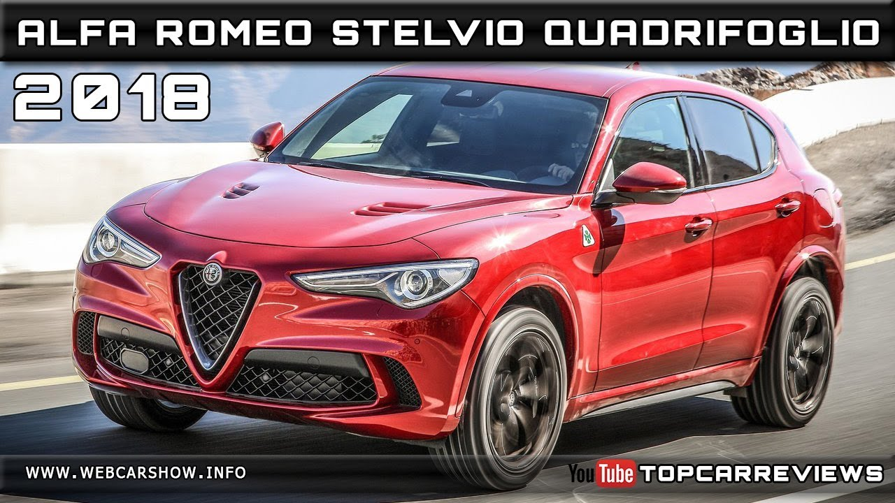 2018 alfa romeo stelvio quadrifoglio review rendered price. Black Bedroom Furniture Sets. Home Design Ideas