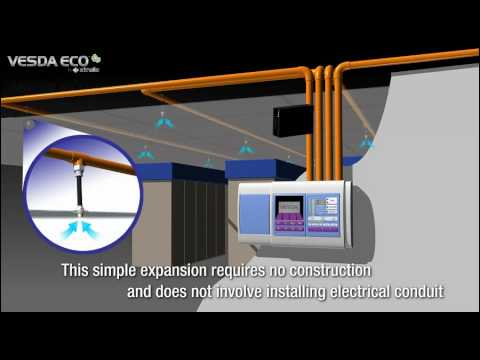 How to Calite the VESDA ECO: Videos: Xtralis Db Sie Smoke Detector Wiring Diagram on