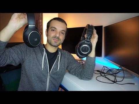 Audio Technica ATH-M50x vs Sennheiser HD 558 - Best Headphones Under $200!