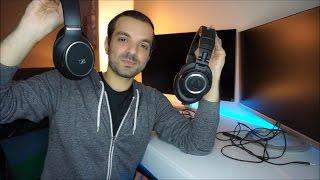 Video Audio Technica ATH-M50x vs Sennheiser HD 558 - Best Headphones Under $200! download MP3, 3GP, MP4, WEBM, AVI, FLV Juli 2018