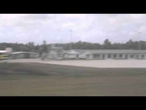 Niue Atterrissage à Alofi / Niue Landing Alofi