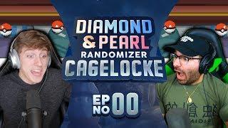VINNY THE GARGOYLE! | Pokemon Diamond and Pearl Randomized Cagelocke Ep 00