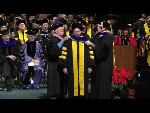 University of Iowa Graduate College Commencement Ceremony - December 16, 2016