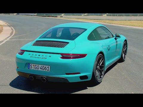 2017 Porsche 911 Carrera GTS Miami Blue - Ultimate Sports Car 450 hp