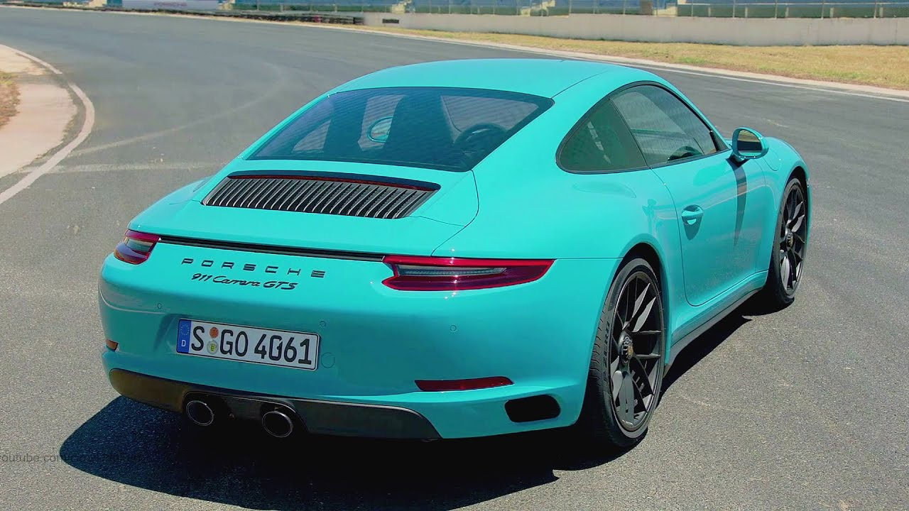 2017 porsche 911 carrera gts miami blue ultimate sports car 450 hp youtube. Black Bedroom Furniture Sets. Home Design Ideas
