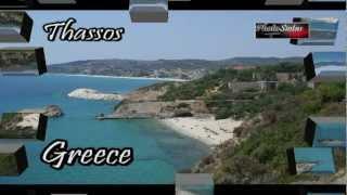 THASSOS BEACHES LANDSCAPE GREECE - ΘΑΣΟΣ ΠΑΡΑΛΙΕΣ ΤΟΠΙΑ ΕΛΛΑΔΑ