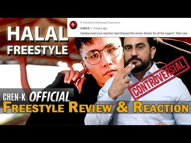 Freestyle Reaction on CHEN-K - Halal Freestyle (Official Video) | Urdu Rap