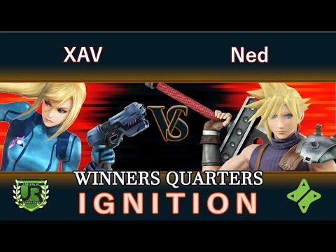 Ignition #90 WINNERS QUARTERS - XAV (Zero Suit Samus) vs Ned (Cloud)