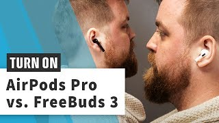 Apple AirPods Pro vs Huawei FreeBuds 3