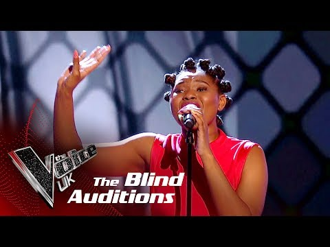 Nandi Performs 'Kiss Me': Blind Auditions | The Voice UK 2018