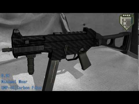 UMP-45 Carbon Fiber - Skin Wear Preview