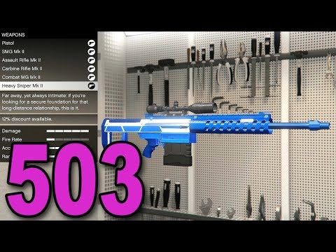 Grand Theft Auto 5 Multiplayer - Part 503 - MK II WEAPON SPENDING SPREE!