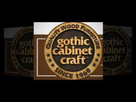 Gothic cabinet craft youtube for Gothic cabinet craft new york ny