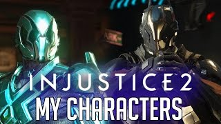Injustice 2 - My Custom Characters