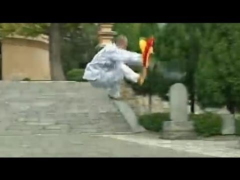 Shaolin kung fu 5 tigers kill herd of sheep saber