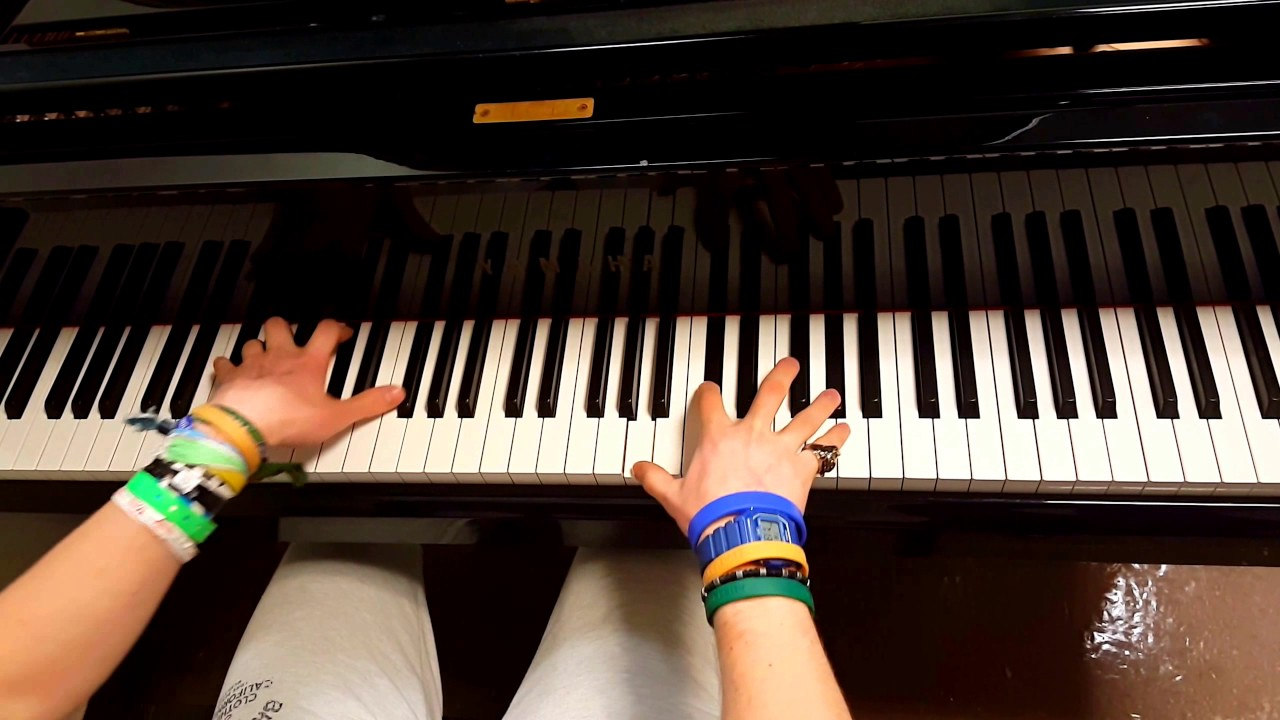 Post Malone Leave Tishler Piano Cover Chords Chordify