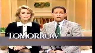 1990 NBC Today Show teaser Bryant Gumble Deborah Norville Danny Aiello Mark Knopfler Thumbnail