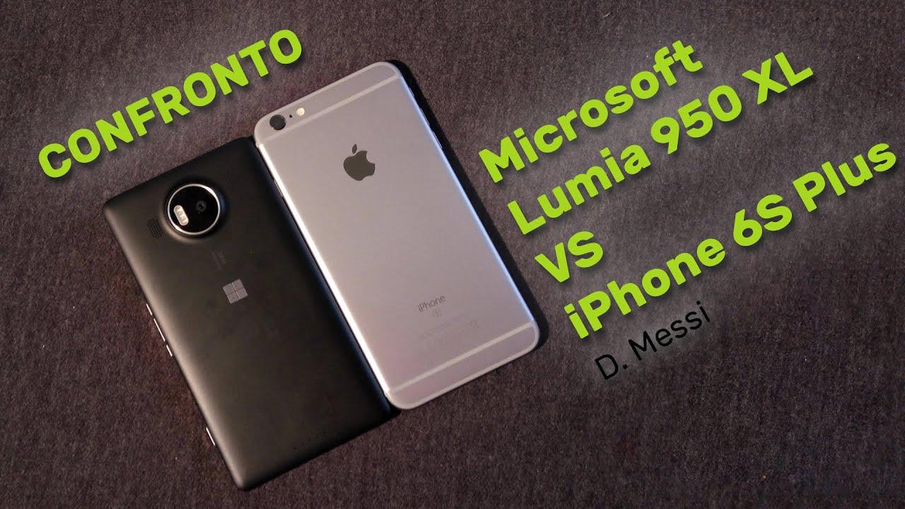 windows lumia 950 vs iphone 6s