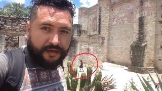 Apareció una niña en mi video! Visité Mitla la ciudad de los Muertos.