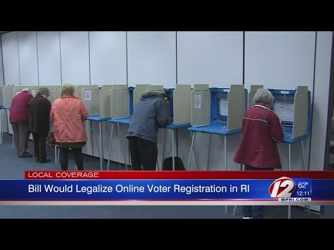 Bill Would Legalize Online Voter Registration in RI
