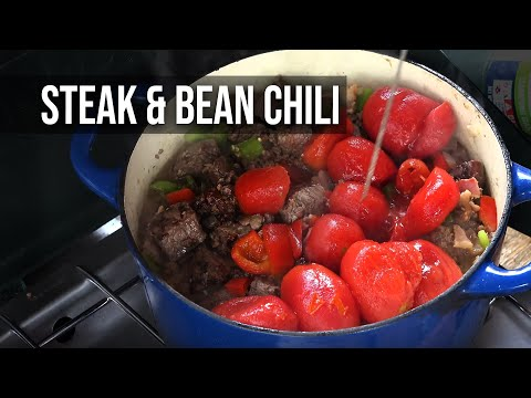 BBQ Pit Boys Steak And Bean Chili