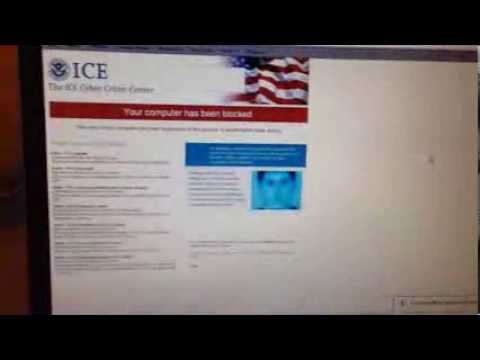 NO DOWNLOAD - How To Delete Ice Cyber Crime Virus - FAST AND EASY