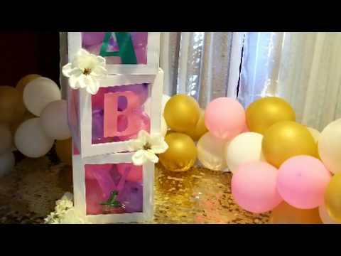 Dollar Tree DIY Baby Name Blocks